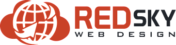Red Sky Web Design Logo