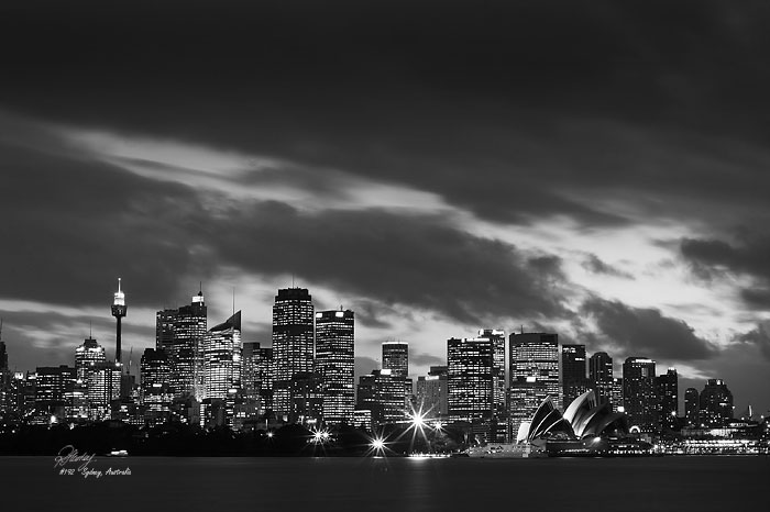 Picture of sydney skyline sydney nsw australia
