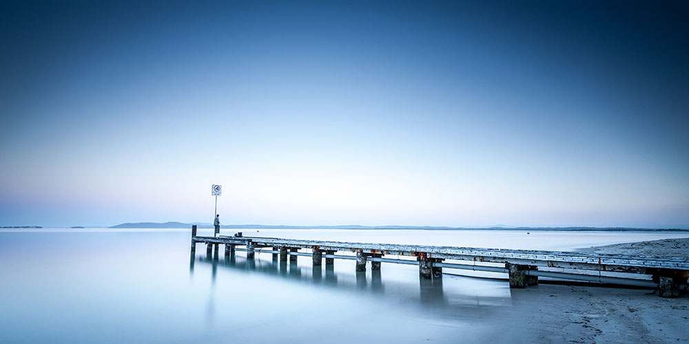 Fly Point Jetty, Port Stephens, Mid North Coast, NSW, Australia