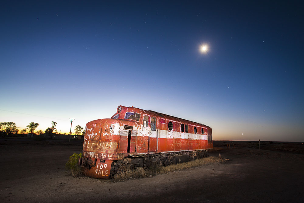 Abandoned Loco, Marree, Oodnadatta Track