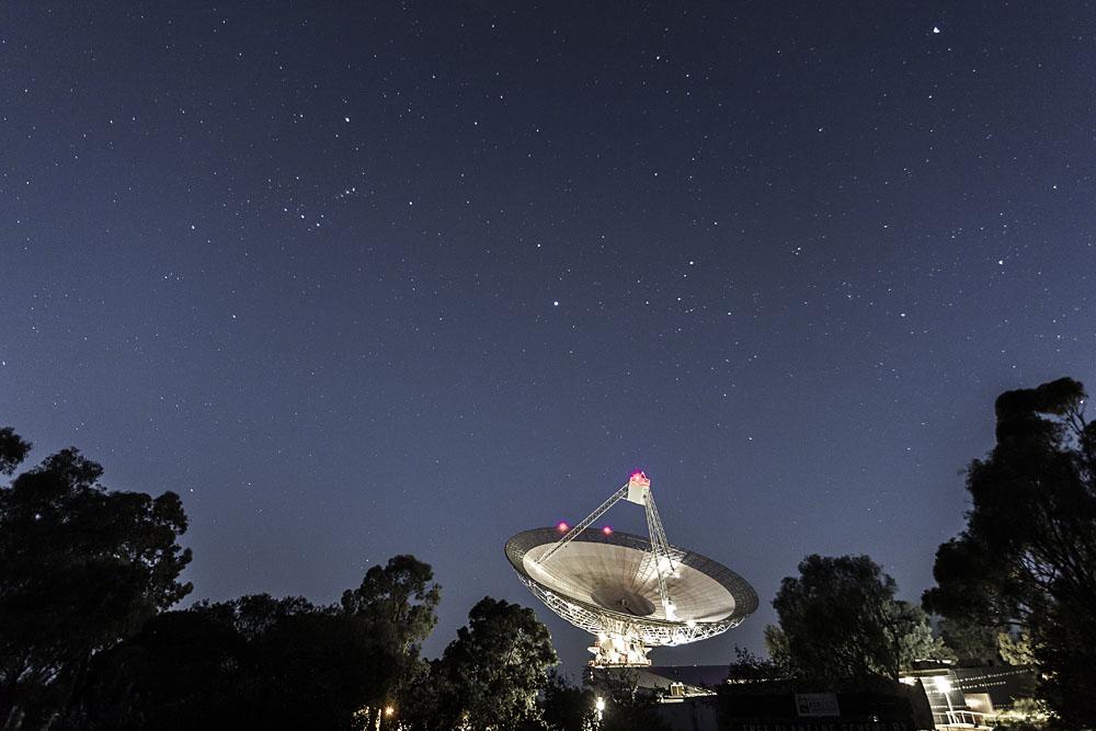 CSIRO radio telescope, Parkes NSW.