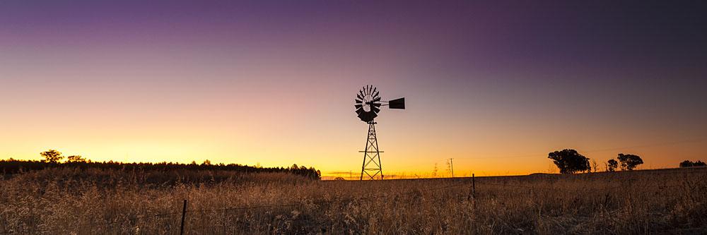 Windmill. Parkes, NSW.