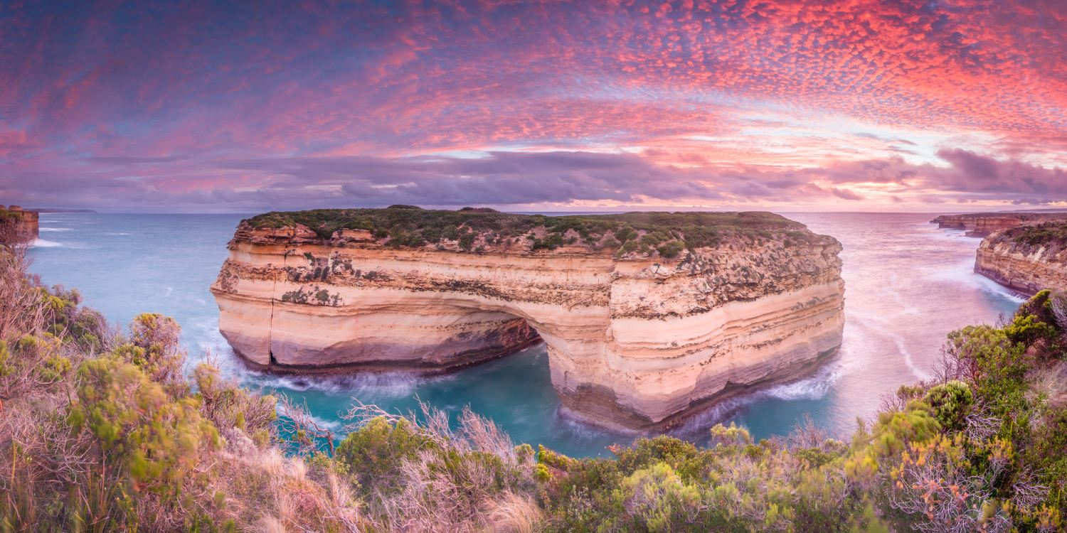 Muttonbird Island, Great Ocean Road, Loch Ard Gorge, Great Ocean Road, Victoria, Australia