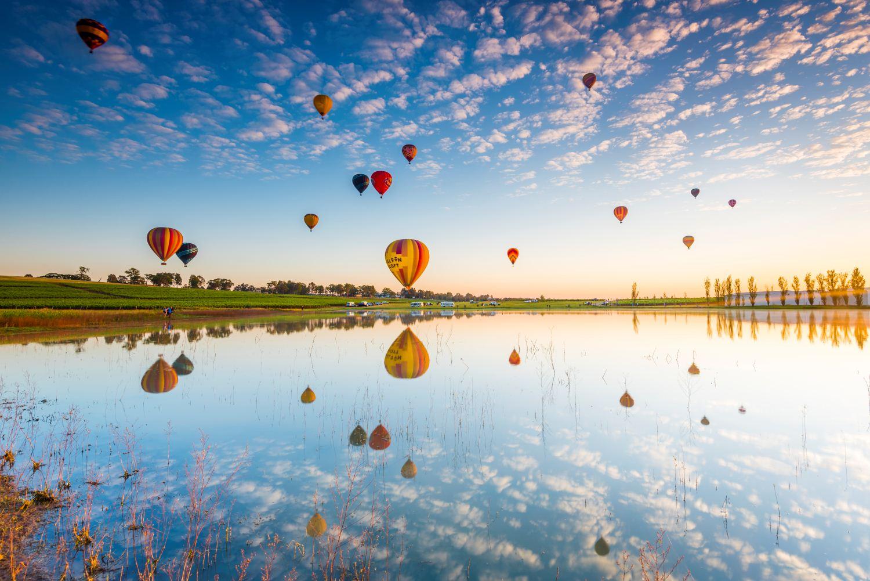 Hunter Valley Balloons Fiesta