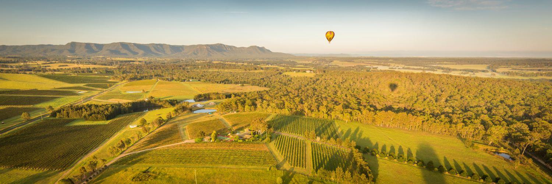 Ballooning towards the Brokenback Mountain Range