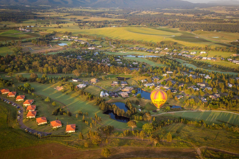 The Vintage Golf Club Aerial,