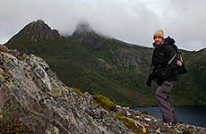 Richard at Cradle Mountain